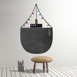 Tableau noir et peinture ardoise dans une chambre d'enfant | picslovin | Scoop.it
