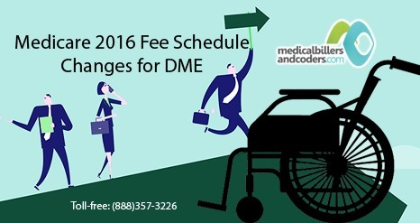 Medicare 2016 Fee Schedule Changes for DME Industry | Medical Billing Services | Scoop.it