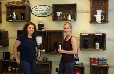 Sisters flipped over Cape Cod Coffee Roasters | Coffee News | Scoop.it