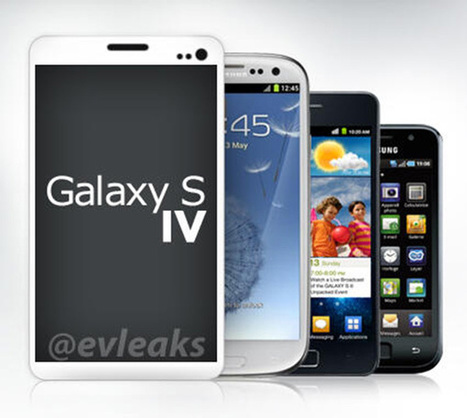 Samsung : Lancement du nouveau Smartphone « Le Galaxy S4 » | PixelsTrade Blog | Business Apps : Applications in-house | Scoop.it