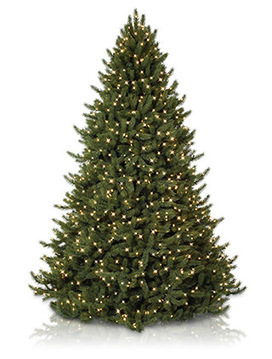 Vermont White Spruce Tree   Extra Tall Artificial Christmas Tree   Scoop.it