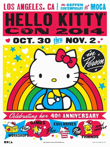 Are You Ready For Hello Kitty Con 2014? Celebrating 40 Years of the Popular Feline. ~ a rain of thought | A Rain of Thought- Music & Entertainment | Scoop.it