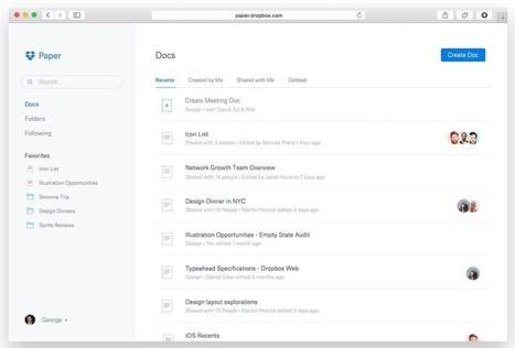 Paper. Le travail collaboratif par Dropbox - Les Outils Collaboratifs | Les outils du numérique au service de la pédagogie | Scoop.it