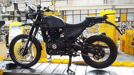 New Royal Enfield Himalayan spied – BikeSocial   Motorcycle news from around the web   Scoop.it
