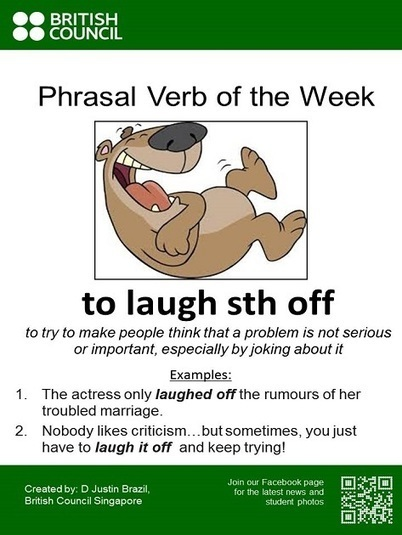 Phrasal Verb of the Week | British Council Singapore | Applied Corpus Linguistics to Education | Scoop.it