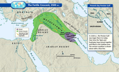 40 Maps That Explain The Middle East | wilmington school libraries | Scoop.it