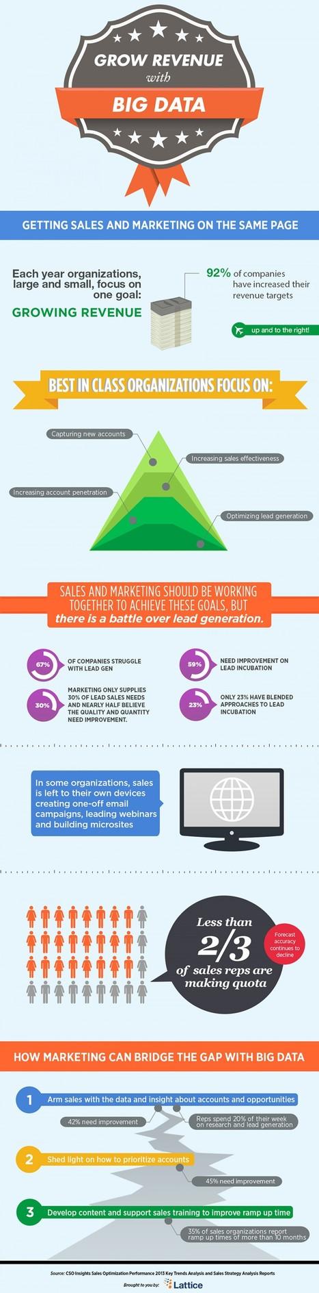 Augmenter ses ventes et son CA avec le Big Data #Marketing #Lead   Veille et curation du web   Scoop.it