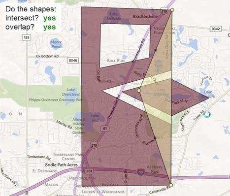 Geoproceso: HTML5 Shape Intersection - MapDotNet Blog | TIG | Scoop.it