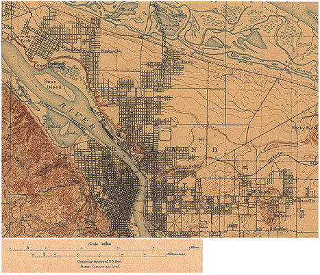 portland or 1897 | PDX water maps and messes | Scoop.it