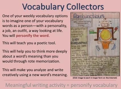 Combining Vocabulary Instruction with Poetry, Mini-Lessons for Writing, Etymology, and Grammar Skills...Take that, Common Core! | 6-Traits Resources | Scoop.it