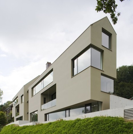 [Switzerland ] House for 6 Families / L3P Architects | The Architecture of the City | Scoop.it