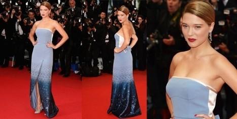 A Cannes Léa Seydoux vince la scommessa grazie a Louis Vuitton - Sfilate | fashion and runway - sfilate e moda | Scoop.it