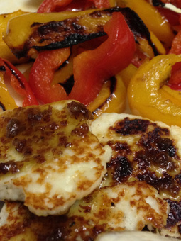 Pan Grilled Paneer With Bell Peppers | Food for Foodies | Scoop.it