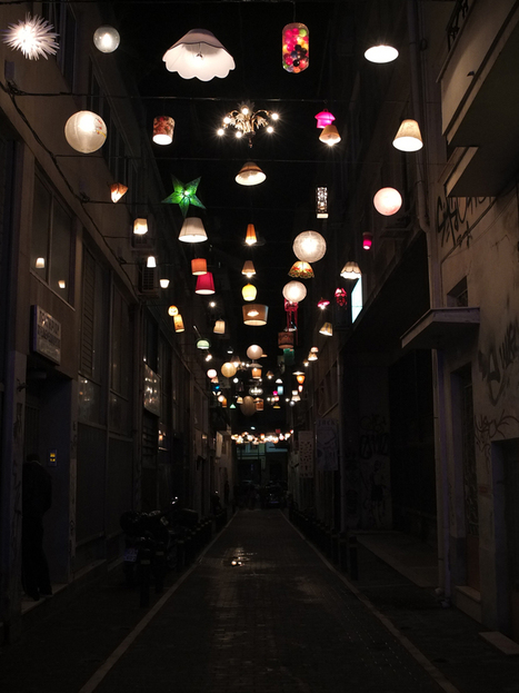 communal lighting installation from donated fixtures by beforelight | DEPnews développement personnel | Scoop.it