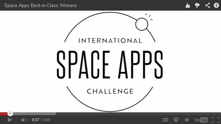 Toronto Team Receives Honorable Mention at the International Space Apps Challenge | More Commercial Space News | Scoop.it