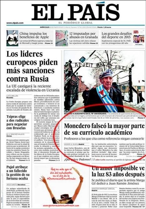 El País y el límite del ridículo | En la lucha-Struggle goes on | Scoop.it