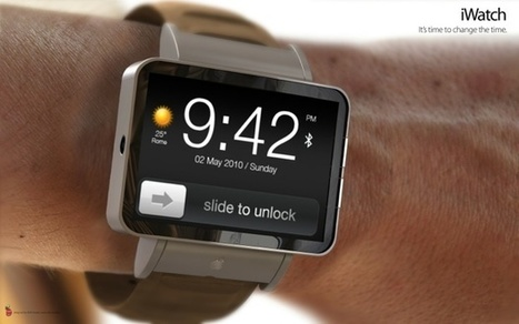 L'Apple Watch telle qu'on l'imaginait en 2013 | Apple, IMac and other Iproducts | Scoop.it
