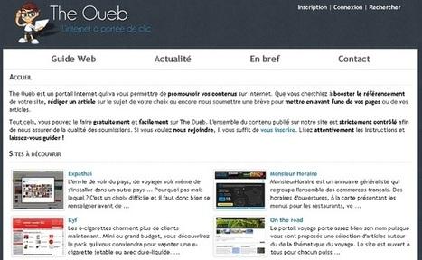 5 Annuaires pour inscrire vos sites web | web et design | Scoop.it