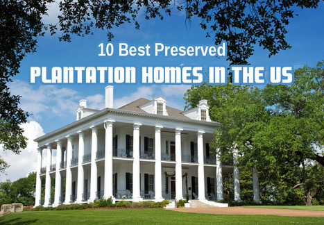 10 Best Preserved Plantation Homes In The US | Oak Alley Plantation: Things to see! | Scoop.it
