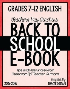 Free Back to School English Language Arts Grades 7-12 Sampler | Resources for Teachers | Scoop.it