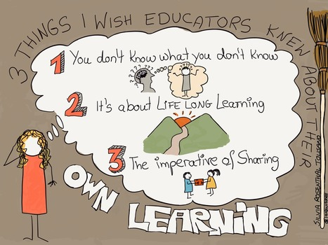 3 Things I Wish Educators Knew About their Own Learning | Leadership, Innovation, and Creativity | Scoop.it