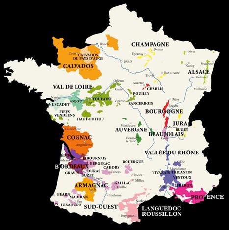 Carte AOC France | Vin de Gascogne | Scoop.it