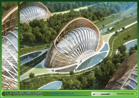 Flavours Orchard concept envisions eco-friendly, energy-producing community | Avant-garde Art & Design | Scoop.it
