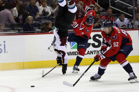 WATCH: Dmitry Orlov Delivers Early Hit of the Year Candidate | Flash News | Scoop.it