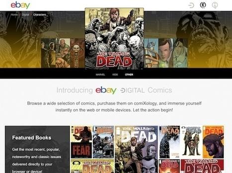 Les BD numériques de comiXology en affiliation sur eBay   L'édition en numérique   Scoop.it