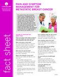 Pain and Symptom Management for Metastatic Breast Cancer   Cancer Survivorship   Scoop.it
