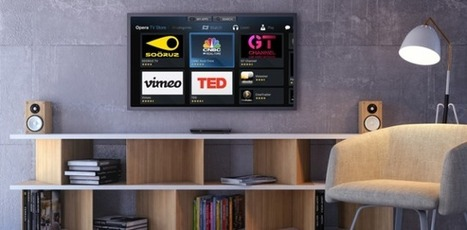 Opera Signs Up Samsung For Its Smart TV Apps Store | TechCrunch | Best LED 3D Smart TV Reviews | Scoop.it