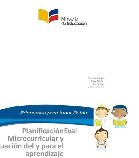 Libro - Taller planificación de la evaluación | Educacion, ecologia y TIC | Scoop.it