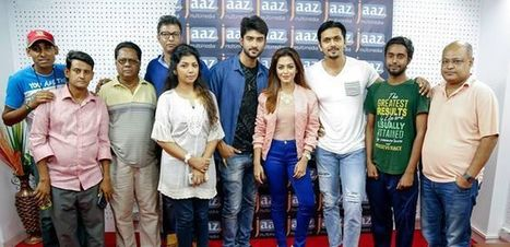 Nusrat Faria and Arefin shuvo upcoming film Dhat Teri ki | Dhakar Mail | www.dhakarmail.com | Scoop.it