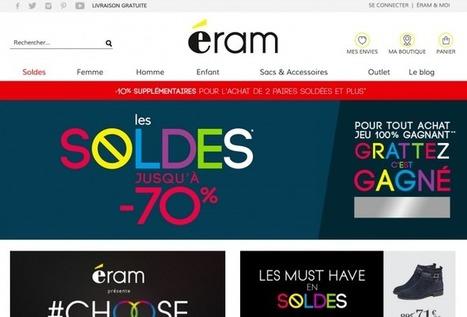 Eram, l'enseigne qui a tout compris des enjeux du digital - le magazine des points de vente   Cours e-commerce   Scoop.it