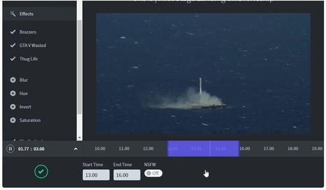 Cómo crear un GIF de un vídeo de YouTube en segundos | Recursos didácticos y materiales para la formación del profesorado. Servicio de Innovación y Formación del Profesorado | Scoop.it