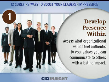 12 Surefire Ways to Boost Your Leadership Presence | iGeneration - 21st Century Education | Scoop.it