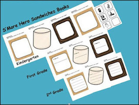 Common Core Kids: Making S'more Hero Sandwich Books to Honor ... | Elementary math common core state standards | Scoop.it