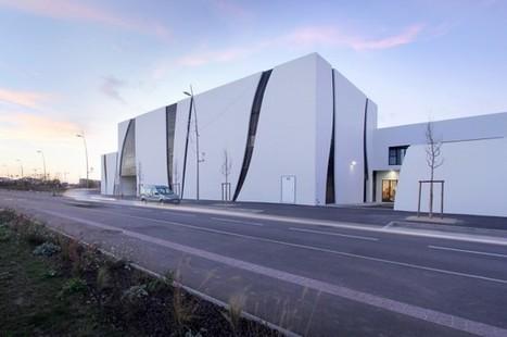 Le nouveau groupe scolaire de Blagnac, repère urbain dans un quartier en construction - Réalisations | Expert immobilier et bâtiment | Scoop.it