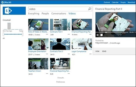 Enhanced Video Experience in SharePoint 2013 | Office Blogs | SharePoint | Scoop.it