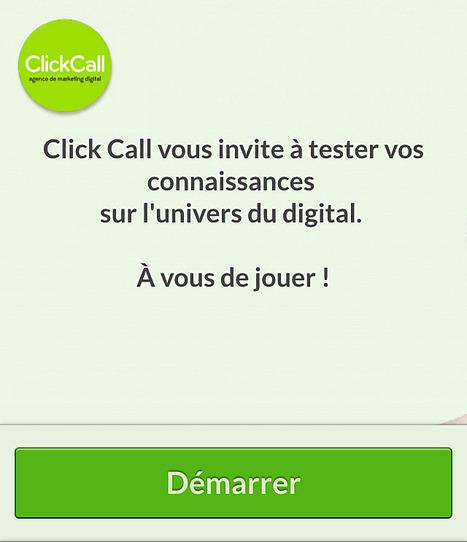 Click Call Quizz #1 | Découvrir Click Call | Scoop.it