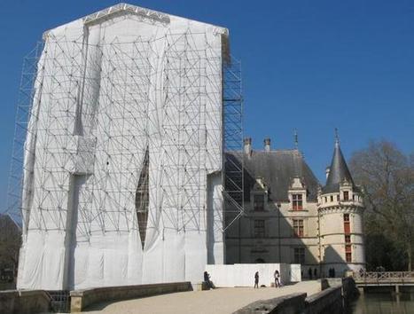 Le château d'Azay-le-Rideau en appelle aux donateurs | Office de Tourisme du Pays de Chinon | Scoop.it