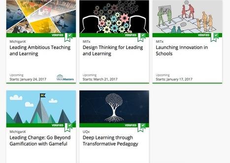 5 cours en ligne gratuits pour aider les écoles dans leur virage numérique | De tout sur la pédagogie! | Scoop.it