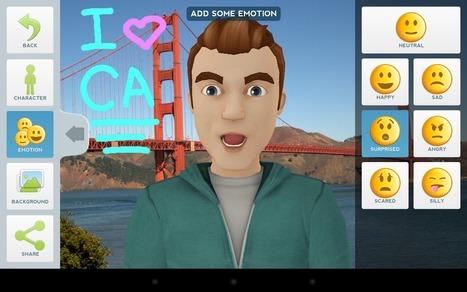 Tellagami pour android- créer un avatar animer pour raconter un evenement (mouais)   le foyer de Ticeman   Scoop.it