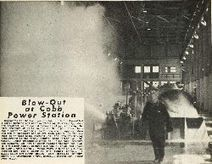 Blow-Out at Cobb Power Station - Nelson Photo News - No 88 March 9, 1968   Earth and space science issue   Scoop.it