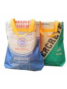 Recycled Cement Sacks | Recycled Crafts | Scoop.it