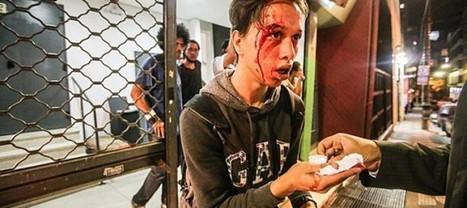 PM invade Teatro de Arena, em São Paulo, para agredir estudantes - Portal Fórum | Anonimato da polícia | Scoop.it