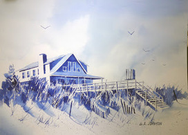 Watercolor sketches - Litchfield Beach & Pawleys Island | Explore Pawleys Island | Scoop.it