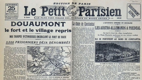 Les médias dans la Grande Guerre - Mission du Centenaire | première guerre mondiale | Scoop.it