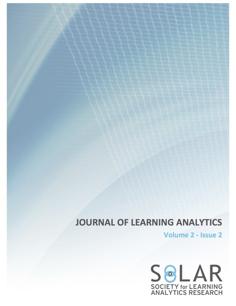 Journal of Learning Analytics | Enhancing Learning with Technology | Scoop.it