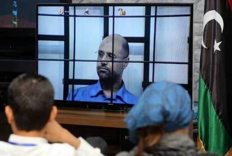 Seif al-Islam Kadhafi comparaît devant la justice...par vidéoconférence #Feb17CRIMES #R2PCrimes #FreeSaif | Saif al Islam | Scoop.it